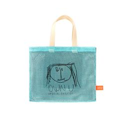 3COLOR MESH BAG SMALL (mint)