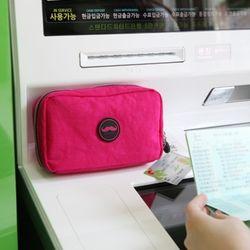 10000봉주르통장멀티포켓 핑크