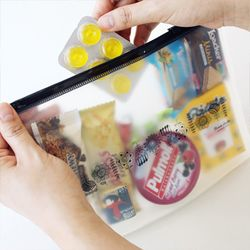 Blossom Garden - Clear Pouch L