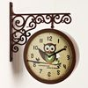 부엉이양면 clock (ktk018)