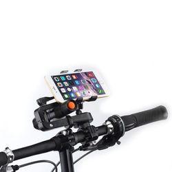 프리미엄 자전거하이브리드 홀더(스마트폰손정등거치)