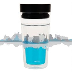 ECO DOUBLE GLASS VER.2 - save the arctic