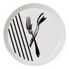 Setting Plate : fork & spoon