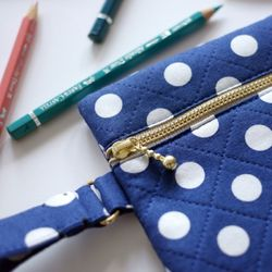 (DIY) 플랫 지퍼 파우치 flat zipper pouch