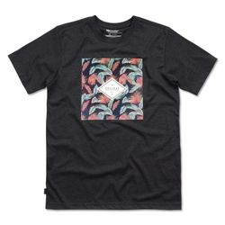 TROPICAL short sleeve - charcoal