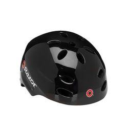레이저 아동용 헬멧 안전모 블랙