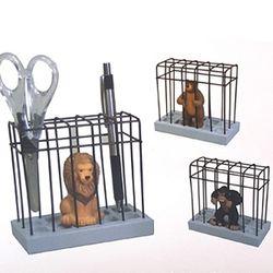 책상위의 동물원 메모꽂이