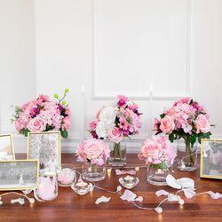 Self Wedding Photo Table - 러블리핑크 오키드