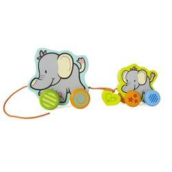 [하페에코]아장아장 코끼리가족 아기장난감