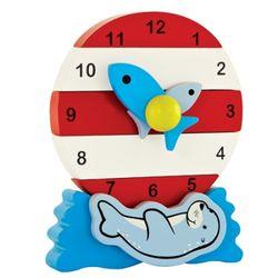 [하페에코]천연원목 퍼즐시계 시계배우기