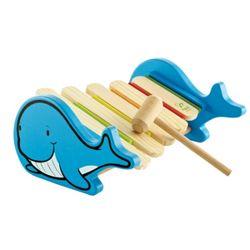 [하페에코]원목장난감 딩동댕 고래실로폰 감성발달