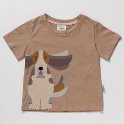 [두부x껌북] Dog 티셔츠 (바셋하운드)