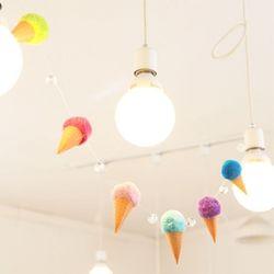 (DIY) 아이스크림 가랜드