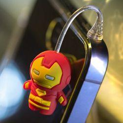 마블정품 어벤져스 이어캡 참플러그 아이언맨 캡틴