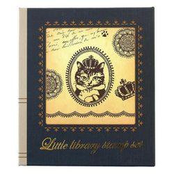 리틀 라이브러리 스탬프 세트 : 왕관 고양이