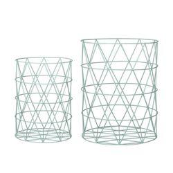 [BloomingVille]Storage Basket Mint 55000057
