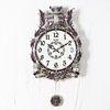 (ksp109)저소음 넝쿨부엉이 시계 주석