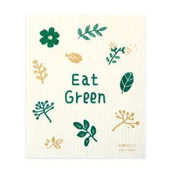 DISHCLOTH 스웨덴 행주 - eat green