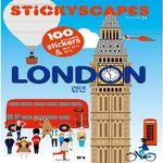 스티커 도시 풍경 - 런던 편