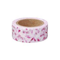 나뭇잎패턴(핑크)