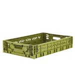 폴딩박스 L olive_Passive Lock 11.7cm