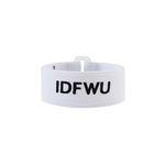 IDFWU BRACELET-WHITE