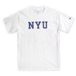 Champion USA Crew Neck T-shirt NYU white