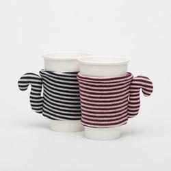 CoffeePet 2.0 테이크아웃 컵 슬리브 공병 데코용품