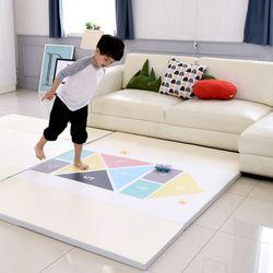 [꿈비 짱짱매트]D200-사방치기 /놀이방 폴더 아기매트