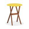 BAN ROUND FOLDING TABLE(반라운드폴딩테이블-옐로우)