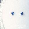 natural drop- 9월의 사파이어 earring (9월 탄생석)