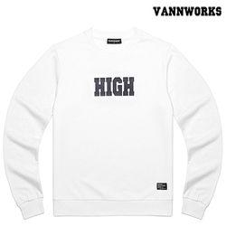 밴웍스 HIGH SWEATSHIRT WHITE(V15TS414)