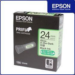정품 엡손 야광 라벨테이프 24mm (SY24YD)