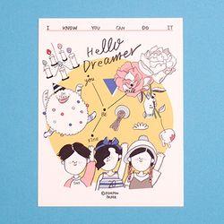 POST CARD - HELLO DREAMER