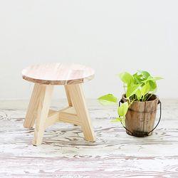 [굿트리] 미니 DIY 원형 원목 스툴
