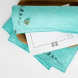 SNOWCAT HANKIE & BADGE (GREEN)