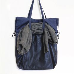 blue coordinatrion eco bag