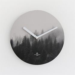 OBJECT CLOCK-MISTY FOREST