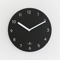 OBJECT CLOCK-BLACK NUMBER