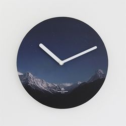 OBJECT CLOCK-SNOW MOUNTAIN