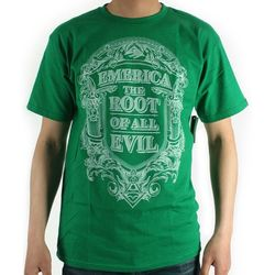 [EMERICA] ROOT OF ALL EVIL BASIC FIT SS (Green)