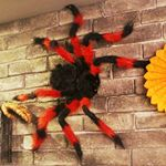 대형 거미모형(블랙앤레드)