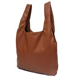 [깅엄버스]심플레더백카멜simpeul leather bag camel
