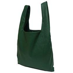[깅엄버스]심플레더백그린simpeul leather bag green