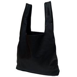 [깅엄버스]심플레더백블랙simpeul leather bag black