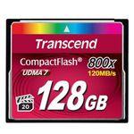 [트랜샌드] CF카드 800배속 128GB 전문가용
