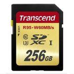 [트랜샌드] SDXC카드 256GB U3 ultra HD4K