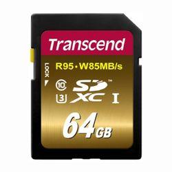 [트랜샌드] SDXC카드 64GB UX3  영상제작용