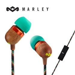 [MARLEY] Smile Jamaica 이어폰[음악통화가능][그린]