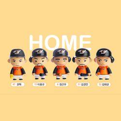 [단품] 한화이글스 CUVA 아트토이 Home 오렌지색
